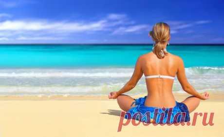 Пляжная йога   Слайдшоу   ВитаПортал - Здоровье и Медицина