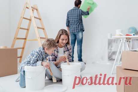 Как покрасить стены в квартире если никогда не занимался ремонтом?