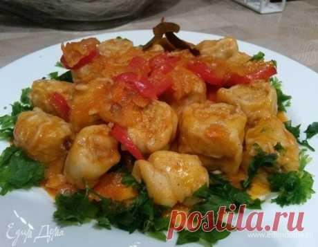 Ленивые пельмени в овощном соусе рецепт 👌 с фото пошаговый | Едим Дома кулинарные рецепты от Юлии Высоцкой