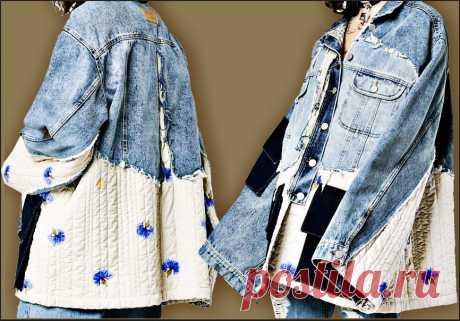 Куртка-телогрейка Модная одежда и дизайн интерьера своими руками
