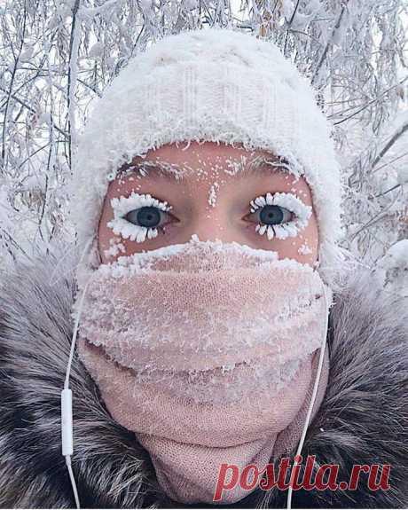 Winter -47 Celsius in Yakutsk, Russia. - 9GAG