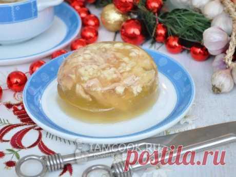 Холодец из курицы в мультиварке — рецепт с фото Отличный рецепт куриного холодца с добавлением свиных ножек или желатина. Холодец будем готовить в мультиварке.
