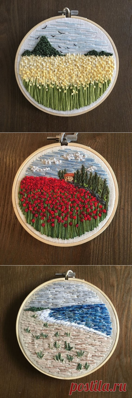 Beautiful embroidery for inspiration