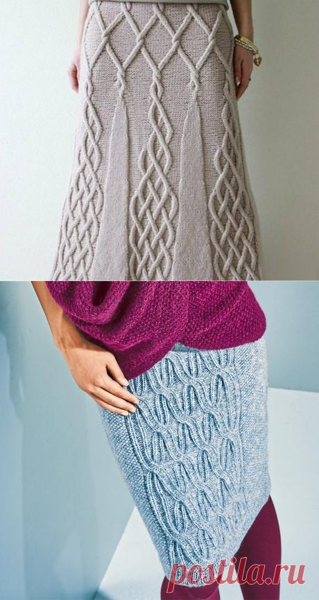 Узор для юбки спицами: схемы и описание узоров для женщин и девочек