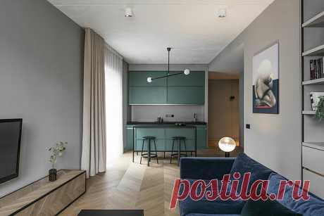 5 стильных идей для интерьера двухкомнатной квартиры