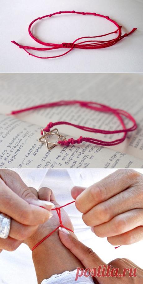 Значение красной нити на запястье: сила защиты от праматери | Jiznenno.Ru