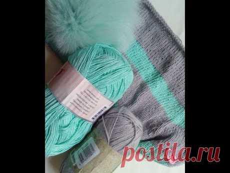 Отчет № 2. Вяжу Хейворд. Подрезы и смена нити. Вязание. Рынашко