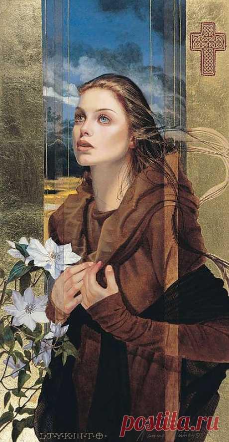 Мануэль Нунес.Волшебные женские образы.