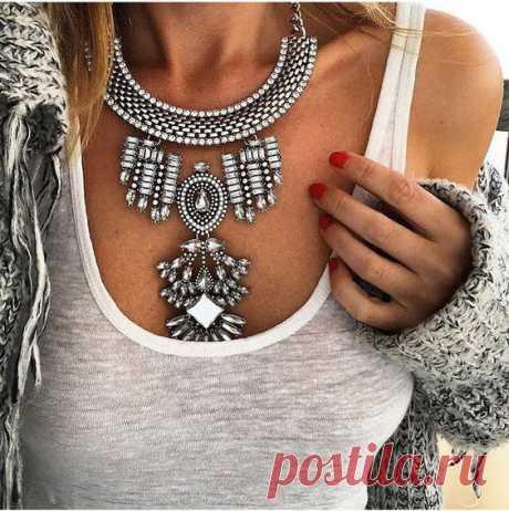 Ожерелье своими руками: когда красота не имеет границ