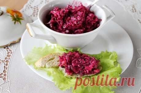 Необычный салат со свеклой — Sloosh – кулинарные рецепты