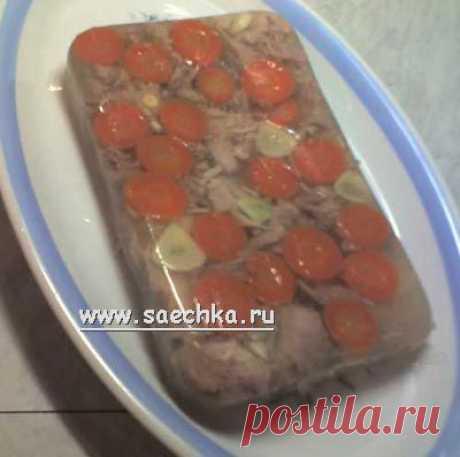 Холодец из ножек   рецепты на Saechka.Ru