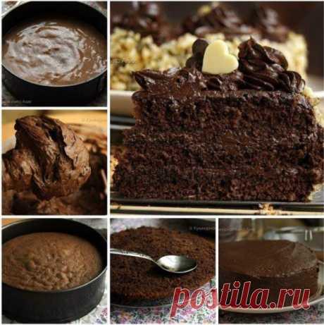 Шоколадный торт по ГОСТу. Вам потребуется: Для бисквита: Рецепты: Шоколадный торт по ГОСТу. Вам потребуется: Для бисквита:.яйца 5 шт.сахар 125 гр.мука 125 ...