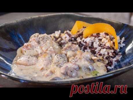 Курица которую обожают все. Французы придумали самое популярное блюдо в России. Фрикассе