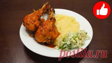 Домашняя курица в соевом соусе в мультиварке, простой рецепт на обед или ужин | Мультиварка простые рецепты! | Яндекс Дзен