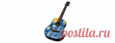 Safari Starry Night Travel Guitar - Luna Guitars manufactures instruments that are artistically designed, physically comfortable, affordably priced, and sound as good as they look. Offerings include acoustic guitars, electric guitars, travel guitars, children's guitars, bass guitars, mandolins, bouzoukis, banjos, & ukuleles. — карточка от пользователя Elrey Delmundo в Яндекс.Коллекциях