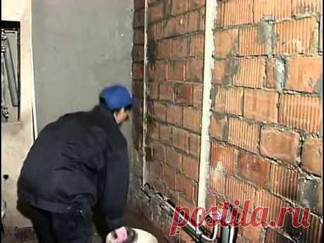 Выравнивание стен своими руками.
