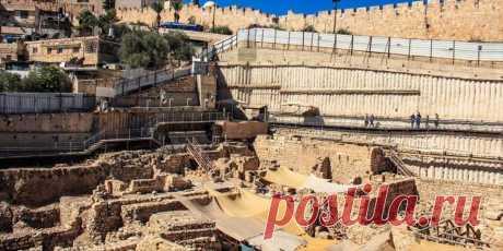 Раскопки в Иерусалиме помогут открыть тайну магнитного поля Земли | Общество | detaly.co.il