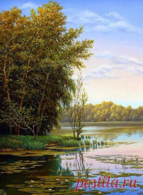Landscapes. Artist VLADIMIR KNYAGNITSKY