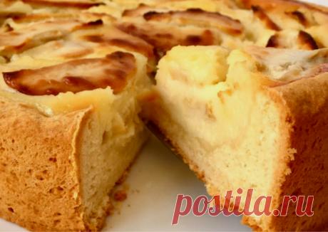 Пирог по старым забытым традициям. | Интересные рецепты | Яндекс Дзен