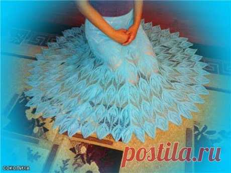 Ажурная юбка, просто захотелось показать.