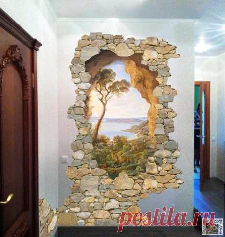 Декоративный камень в интерьере квартиры | OK.RU