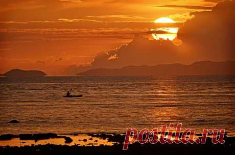 Пляж Тон Сай на юге Таиланда