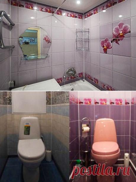 Экономичный ремонт ванных комнат ПВХ-панелями в Санкт-Петербурге. Звоните: (812) 245-33-70