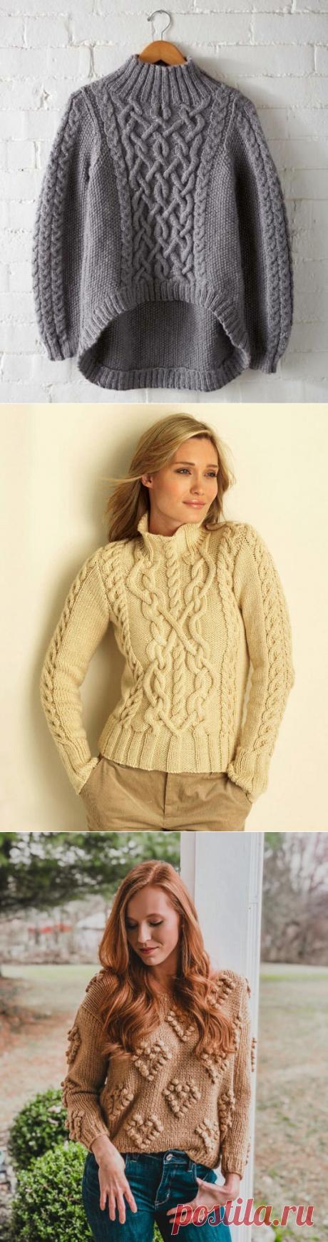 Модные свитера | Модное вязание | Яндекс Дзен