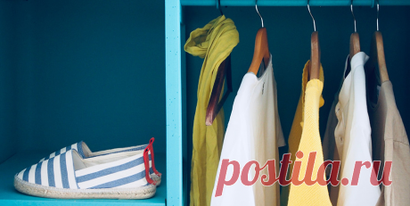7 оригинальных идей для создания гардеробной в маленькой квартире