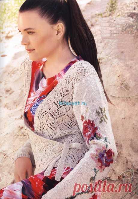 Вязание спицами для женщин с описанием и схемами - Страница 371 из 394