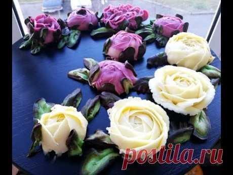 Цветы из Крема ПЛОМБИР