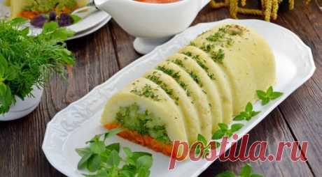 Не только постящихся: картофельно-морковная запеканка — Вкусные рецепты