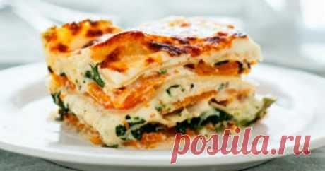 7 abrupt recipes of a lasagna, ideal for winter
