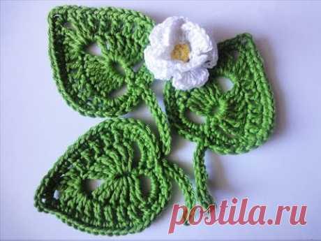 LEAVES Crochet leaflet