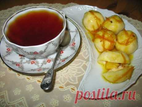 Cottage cheese knedliks with fruit the recipe with photos