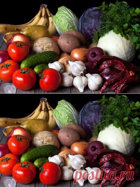 Как хранить овощи и фрукты дома / Меню недели