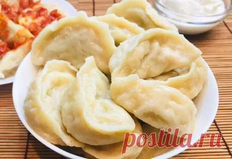 Вкусные вареники с картошкой и сыром: Бюджетное и простое блюдо