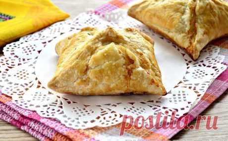 Пирожки с мясным фаршем в духовке рецепт с фото пошагово