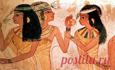 Средства от пота в Древнем Египте