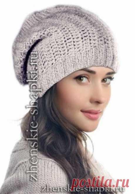 (+2) Простая вязаная шапка