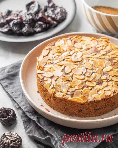 Миндальный пирог с черносливом   Andy Chef (Энди Шеф) — блог о еде и путешествиях, пошаговые рецепты, интернет-магазин для кондитеров  