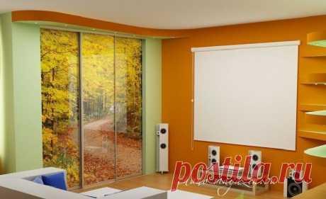 Встроенный шкаф купе в гостиную на заказ по заданным параметрам: фото, материалы