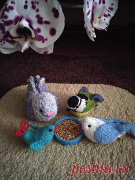 Птички.Амигуруми. Вязаные игрушки - подарок любимым.