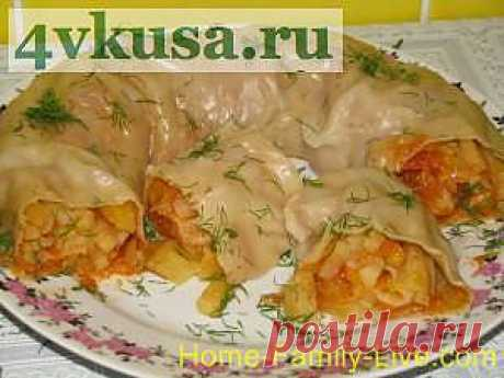 Ханум с картошкой   4vkusa.ru