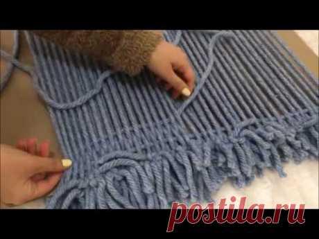Örgü Bilmeyenler İçin: Dünyanın En Kolay Örgü Battaniyesi - Для тех, кто не вяжет: самое легкое вязаное одеяло в мире