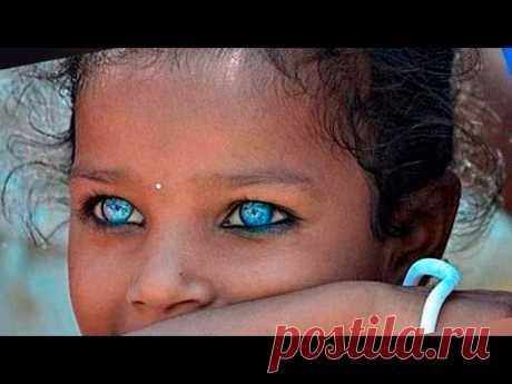 Видео: 10 человек со всего мира с самыми красивыми и фантастическими глазами