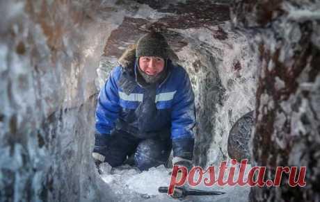 Выморозчик: самая редкая профессия в России | Видео дня