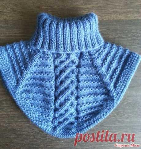 Манишка для сынишки - Вязание для детей - Страна Мам
