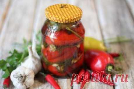 Жареный перец в маринаде на зиму: рецепт с фото, секреты приготовления