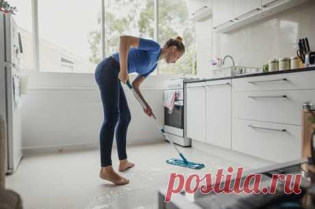 Из чего лучше сделать пол на кухне, чтобы потом не пожалеть | WDAY
